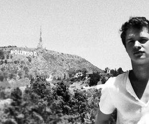 ansel elgort and hollywood image