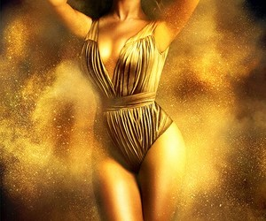 beyoncé, queen bey, and gold image