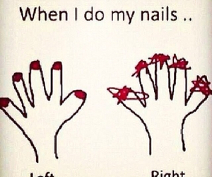 nails, funny, and true image