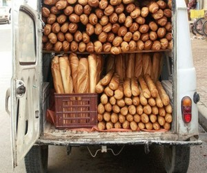 a lot, baguette, and bread image