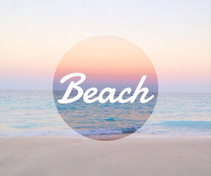 beach, summer, and background image
