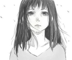 anime girl, girl, and illustration image