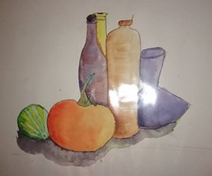 color, tekening, and drawings image