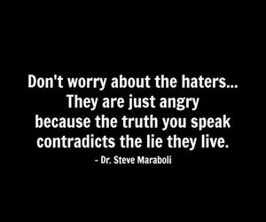haters, lies, and truth image