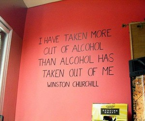 alcohol, quote, and life image