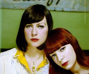 camera obscura, girls, and red lipstick image