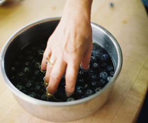 vintage, berries, and blueberry image