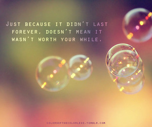 bubbles, quotes, and worth image