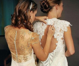 beautiful, brides, and fashion image