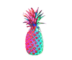 pineapple and colorful image