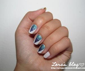 nail, nail art, and nail polish image