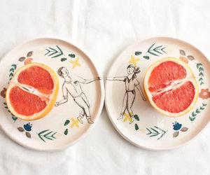 orange, love, and couple image