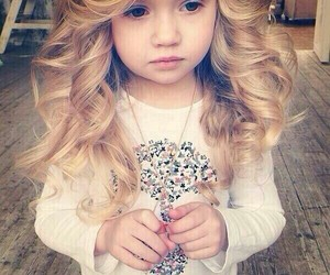baby, blonde, and fashion image