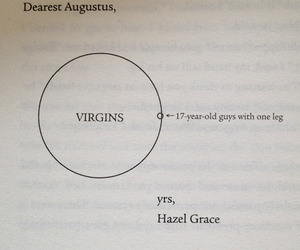 the fault in our stars, john green, and hazel grace image