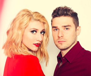 blonde, red, and karmin image