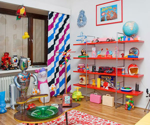 colorful and circus room image