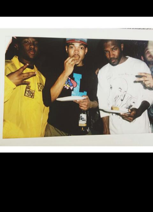 chance the rapper, frank ocean, and hit boy image