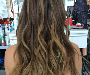 beautiful, braid, and ombre image