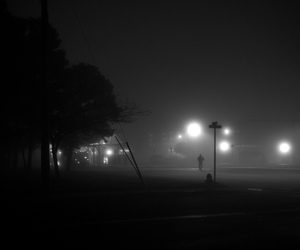 alone, corner, and Darkness image