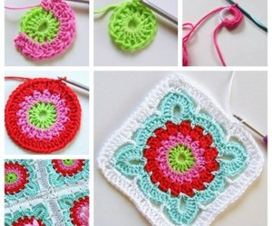 blanket, crafts, and crochet image