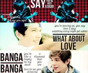 <3, mahomie, and what about love image