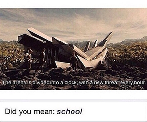 clock, school, and cool image
