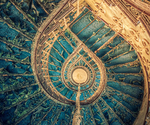 blue, beautiful, and architecture image