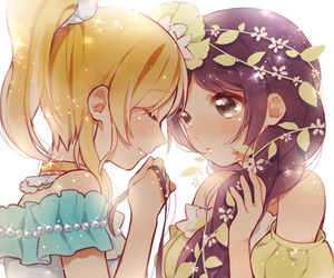 anime, yuri, and love live image