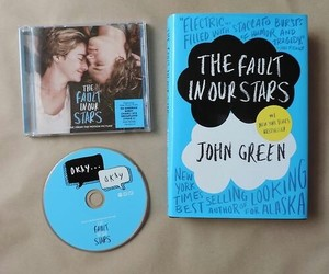 book, tfios, and the fault in our stars image