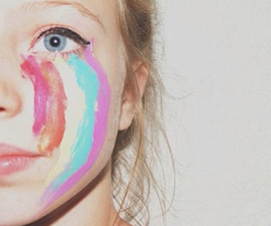 colors, eyes, and girl image