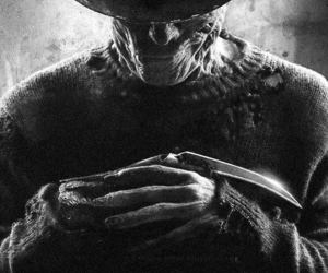freddy krueger and Nightmare on Elm Street image