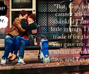 book, movie, and the fault in our stars image