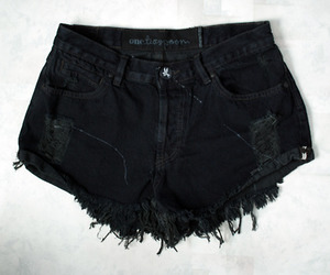 black, cutoffs, and hipster image