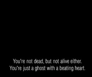 dead, ghost, and quotes image