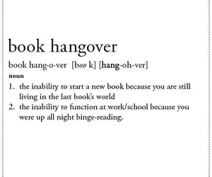 book, hangover, and reading image