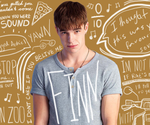 finn, my mad fat diary, and nico mirallegro image