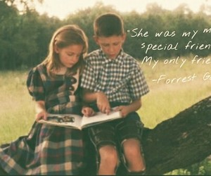 forrest gump, love, and quote image