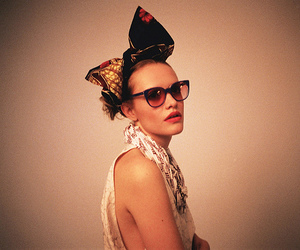 bow, fashion, and glasses image