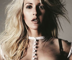 Ellie Goulding, ellie, and black and white image