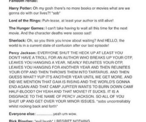 funny, harry potter, and lord of the rings image