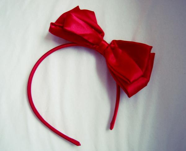 bow, girly, and headband image