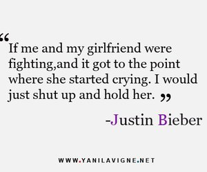 quote and justin bieber image