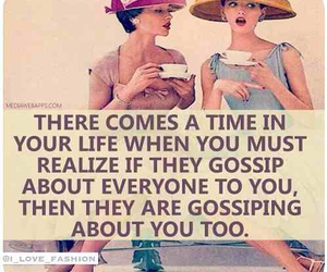 gossip, quote, and fake image