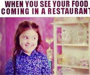 food, funny, and restaurant image