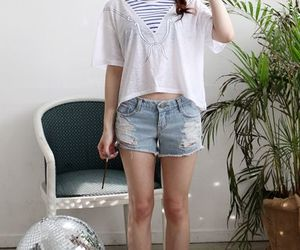 asian, ulzzang style, and cute girl image