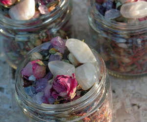rose and stones image