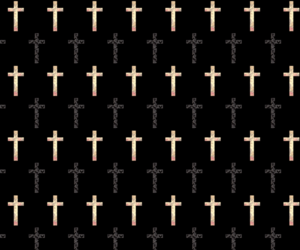 wallpaper, cross, and hipster image