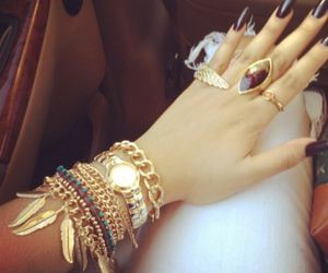 accessories, makeup, and bracelets image