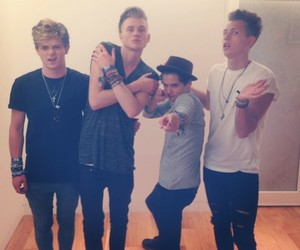 the vamps, tristan evans, and love image