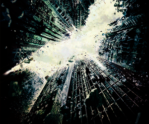 movie, poster, and the dark knight rises image